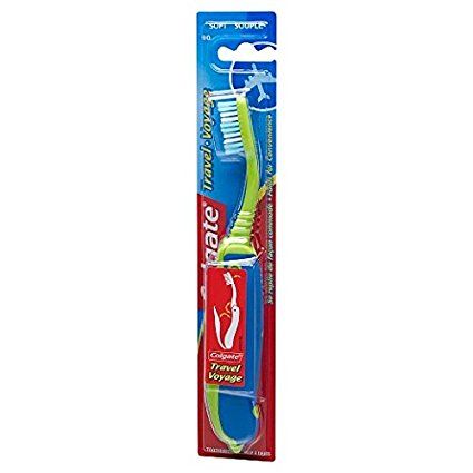 Colgate Travel manual packable toothbrush (Soft)
