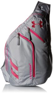 Under Armour Compel Sling 2.0 Backpack in Steel/Graphite color