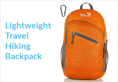 Lightweight Travel Hiking Backpack