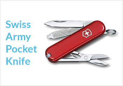 Swiss Army Pocket Knife