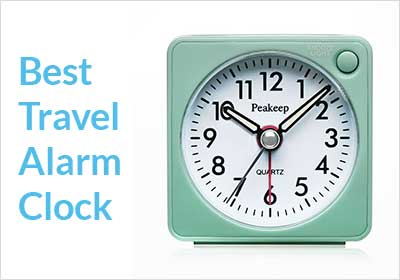 best travel alarm clock